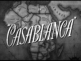 Casablanca movie title