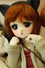 SD Doll BJD 1/6 SQ Lab Chibi Ren Moe Tsubaki Cartoon Face Handmade Element body