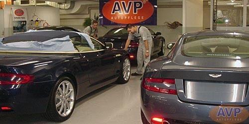 Aston Martin Lackveredelung