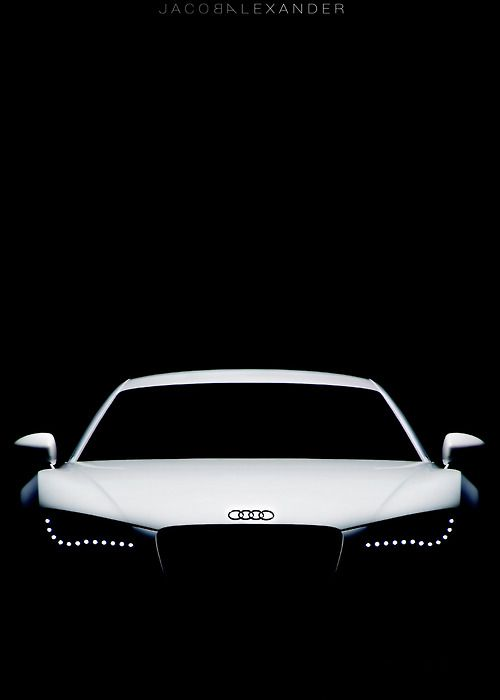Audi's iconic headlights
