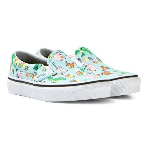 Vans Blue Andy´s Toys Classic Slip Ons