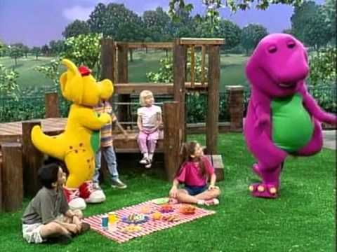 Circle Time: Barney Shoo fly song