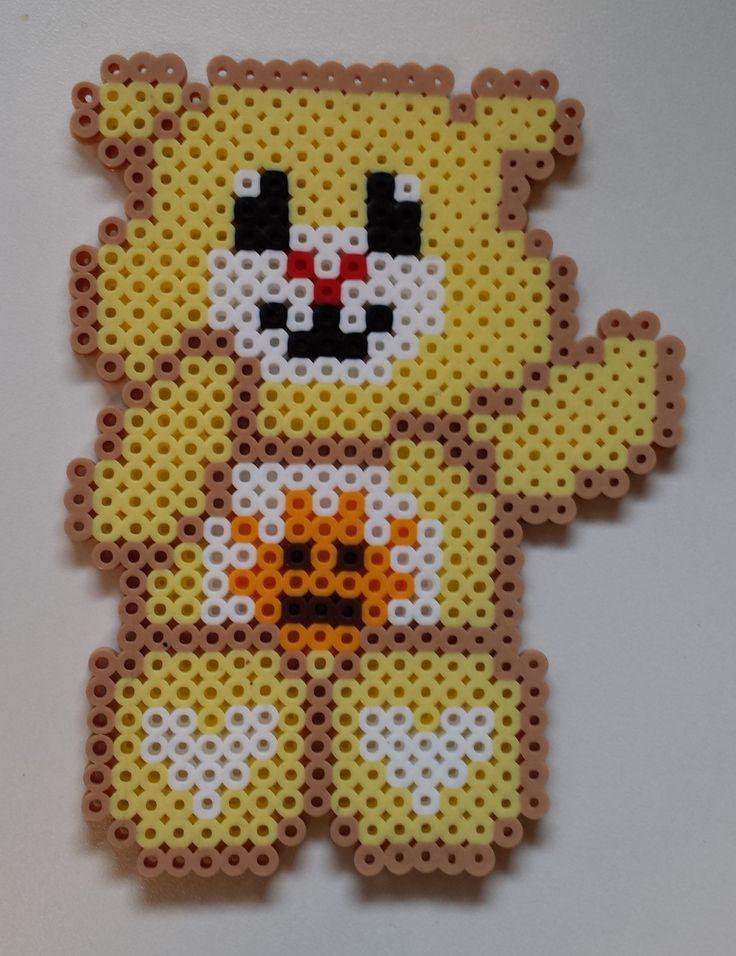 Funshine Bear - Perler Care Bear by Joanne Schiavoni