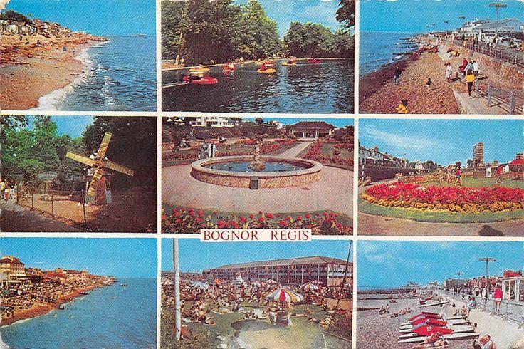 Bognor Regis multiviews Tamarisk Beach Hotham Park West Parade Park Mill Butlins | eBay