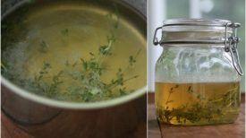 Thym et miel, le remède le plus puissant qui peut améliorer la santé pulmonaire et guérir les infections respiratoires