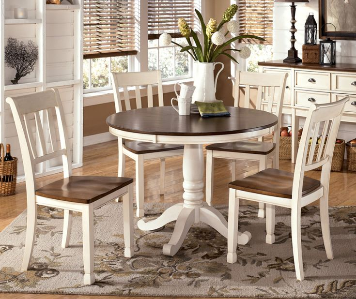 25 Best Ideas About Rustic Round Dining Table On