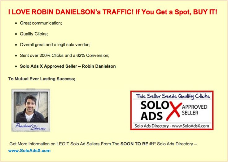 Buy High Quality Solo Ads that convert into OTO sales and many optins. These Solo Ads will be the Best Solo Ads you have ever purchased. http://monstersoloads.com/