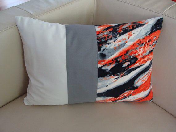 "Decorative ""Rocks"" Pillow Cover, Modern Home Decor, Assorted Colors and Unique Design, (14X20), Unique Model, Modern Model, Modern Pillow,"