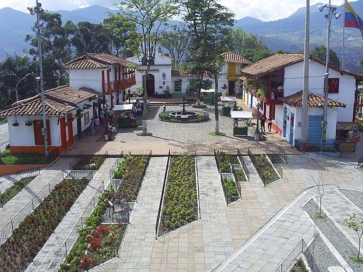 Pueblito Paisa en el cerro de Nutibara, Medellín.