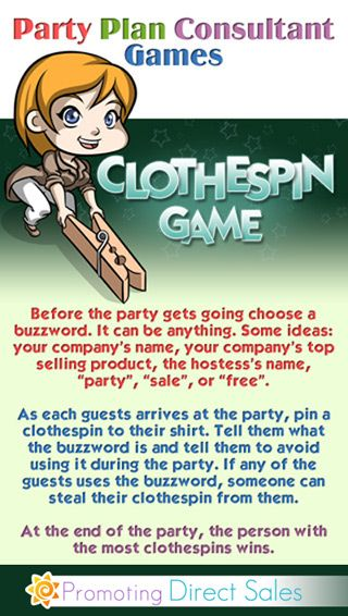 Silly Party Games - Games to Pass Along