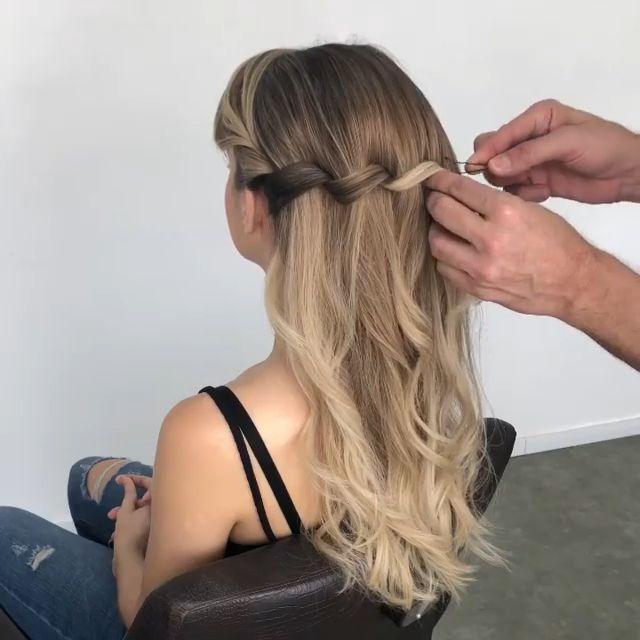 Einfaches Tutorial für Frisuren