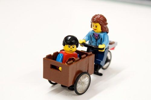 Christiania Bike: A LEGO® creation by Sean Kenney : MOCpages.com
