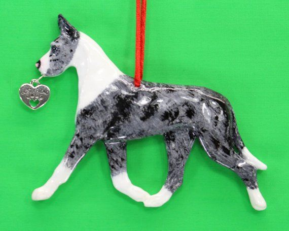 Great Dane Dog Ornament Hot Diggity Dog Home Living Home Decor