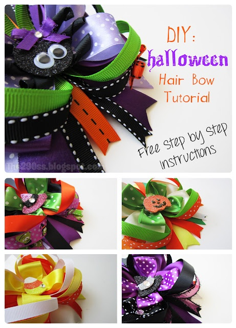 how to make hair bows instruction book