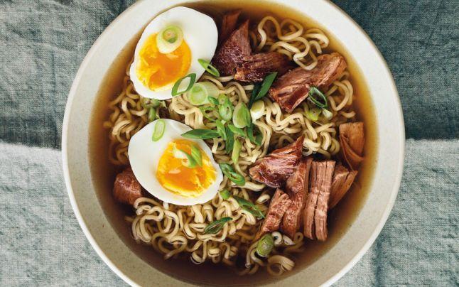 Reţetă de ramen. Cea mai hrănitoare supă din lume, simbol al bucătăriei japoneze