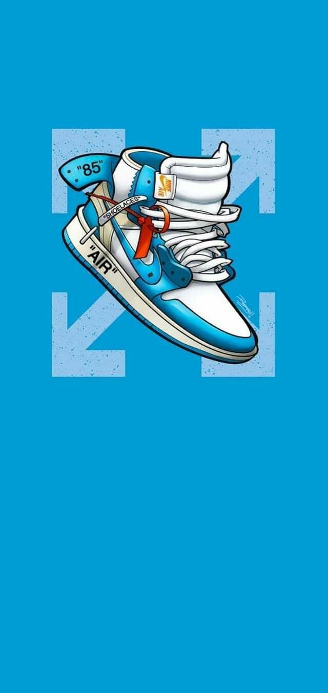 Pin By Privaterayan On Sick Wallpapers In 2020 Sneakers Wallpaper Blue Wallpaper Iphone Nike Wallpaper