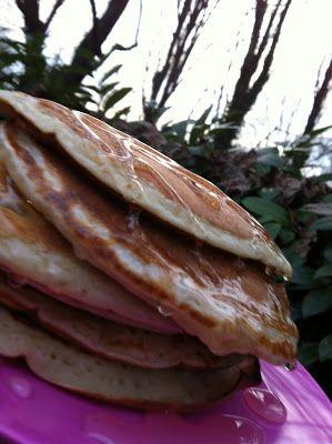 pancakes light, vegan e con farina di semi di canapa