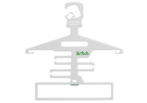 Skitch is a not-so-scary, multifunctional hanger that saves space.