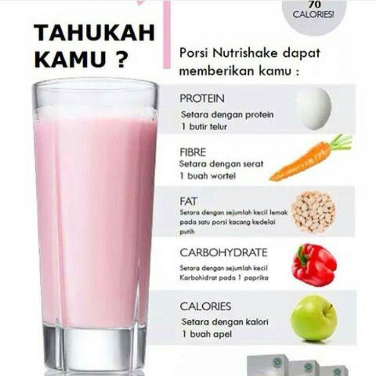 NUTRISHAKE JUARA Hanya mengandung 70kalori tapi didalamnya sudah termasuk protein serat karbo vitamin dan masih banyak lagi. HANYA 70KALORI UNTUK 1 GELAS NUTRISHAKE!! Harga: IDR 498.000 Ada harga ada kualitas ya. Jadi jangan ngeluh tentang harganya rasakan dulu manfaat daru Nutrishake. CARA ORDER (Fast Respon Semua) LINE: lintangtingtong BBM: 5BCEA139 SMS/WA: 0823 3621 4838 ------------------------- FORMAT ORDER (isi dalam 1 chat) Nama: Alamat Lengkap: No. HP: Nama Barang/Kode…