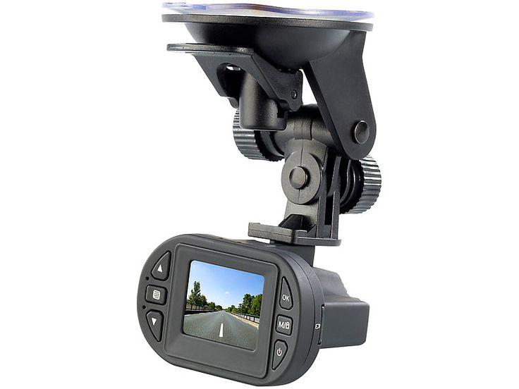 NavGear Full HD Cockpit Rekorder MDV 2260.IR mit G Sensor & Infrarot