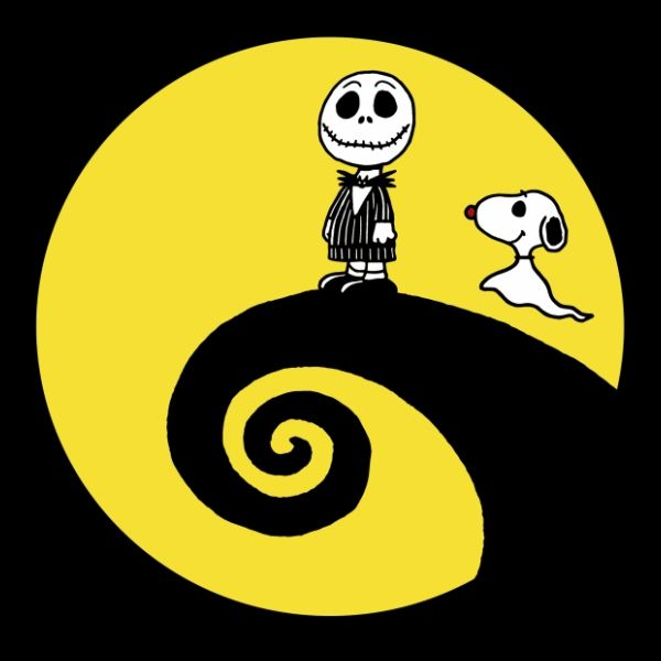 'Peanuts' The best of two worlds...peanuts and nightmare before xmas