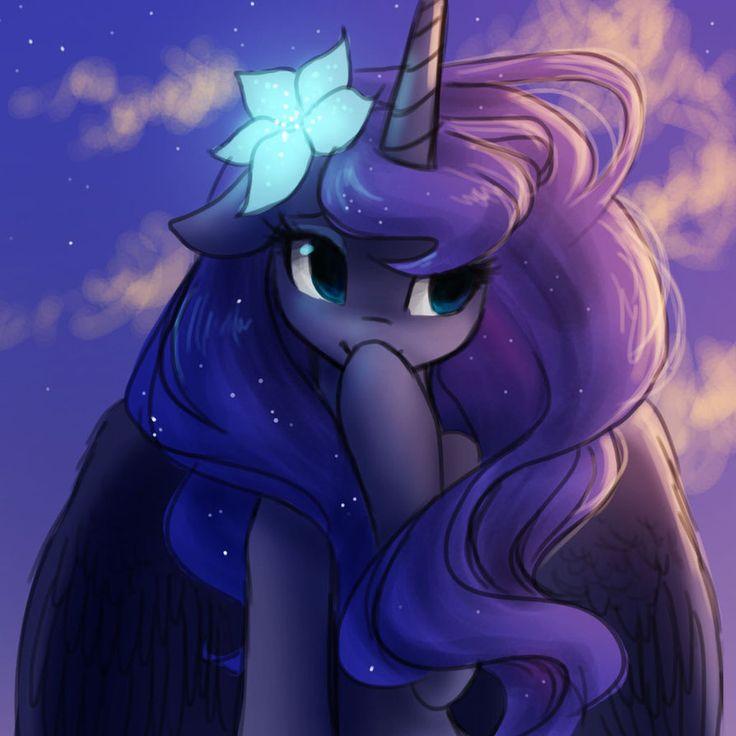 Princess luna, royal pony sister, princess of the night and also adorable