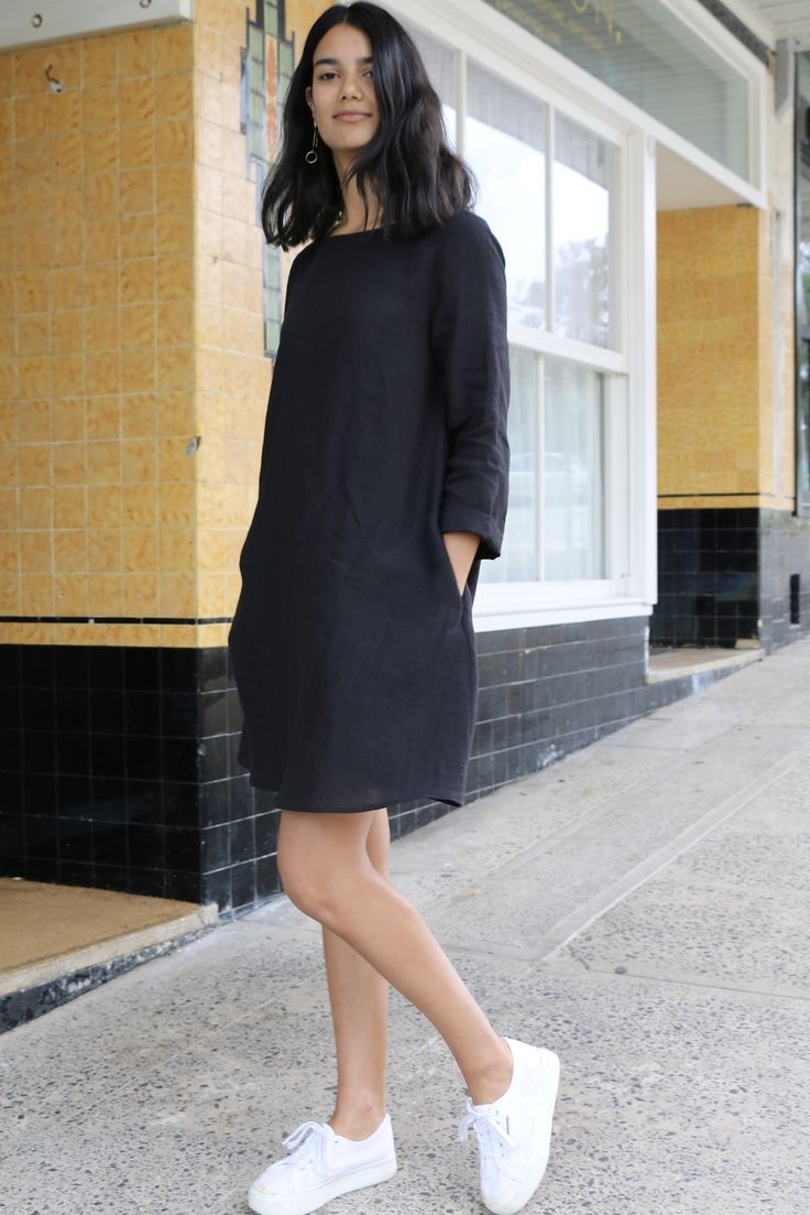 Ever since we released our Gabby Dress, we've had sooooo many requests for a long sleeve version that we decided to create our newest pattern, the Bella Dress. Like Gabby, she's flowy and a-line but Bella also features a centre back seam, slightly wider neckline and...
