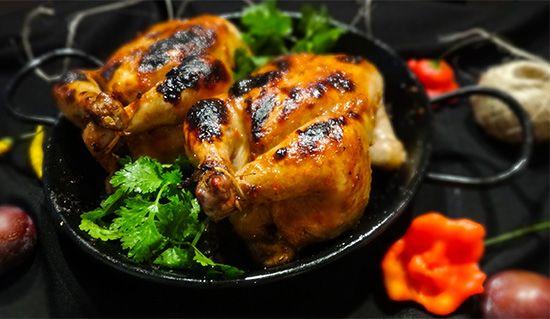 Цыплята корнишоны в сливовой глазировке (Cornish Hen in Plum Glaze)