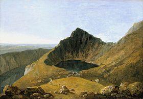 Llyn-y-Cau, Cader Idris by #Wilson.