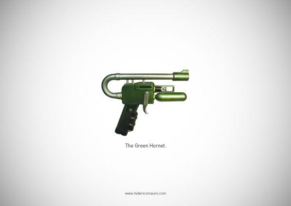 «Famous Guns» : Les armes célèbres par Frederico Mauro
