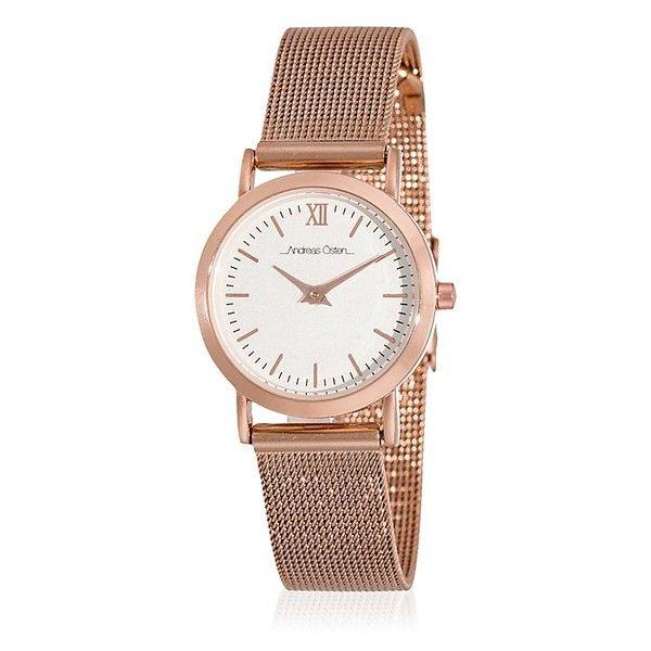 Zegarek damski z różowym paskiem Andreas Östen Wella