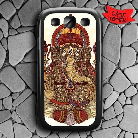 Ganesha Lord Of Success Samsung Galaxy S3 Black Case