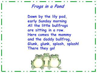 """Song, """"Frogs in a Pond"""""""