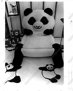 panda bed! please please please Santa I'll be really extra good this year :)