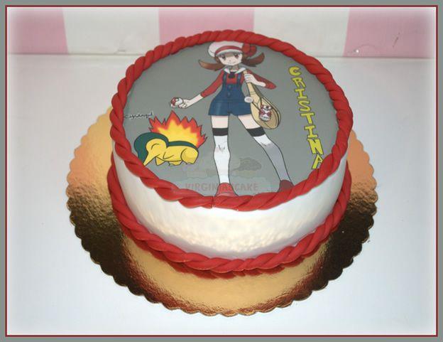 Virginias Cake: Tarta Pokemon Cristina