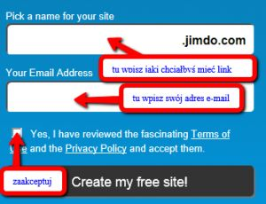 Dzisiaj na informatyce nasza Pani pokazywała nam jak stworzyć własną stronę internatową za pomocą tej strony (Jimdo). Wiele osób było bardzo zainteresowanych. Pani pokazała nam jaką stronę klasową (mamy już też bloga klasowego!) stworzyła już wcześniej. Linku do niej nie podam – są tam nasze zdjęcia  . Ja też stworzyłem taką stronę (na razie na próbę – może kiedyś Jimdo mi się przyda  ).