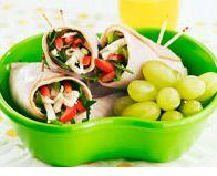 Turkey Spinach Roll-Ups | Recipes | Pinterest