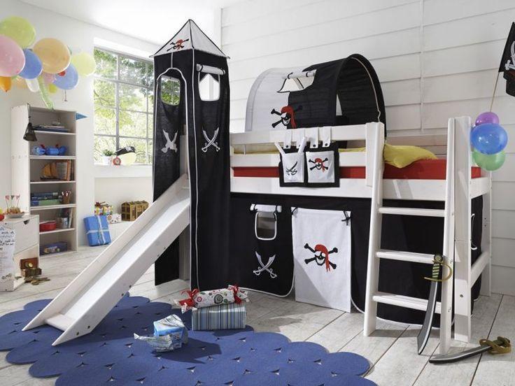 die besten 25 piratenschiff bett ideen auf pinterest. Black Bedroom Furniture Sets. Home Design Ideas