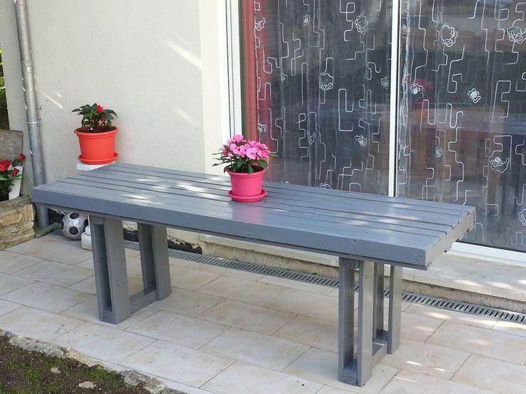 Table en bois de palette : Meubles et rangements par recycle-palette-77