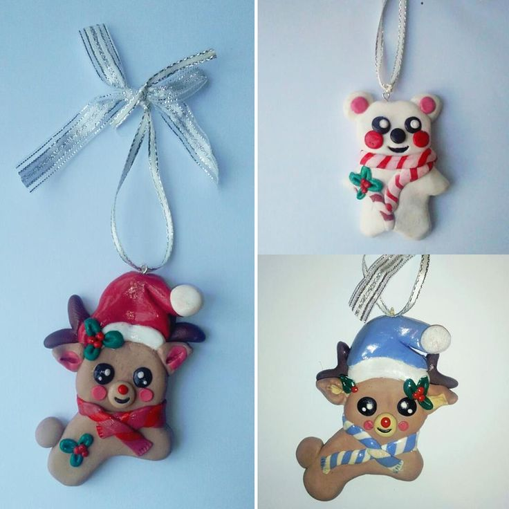 polymer clay christmas decorations ornaments