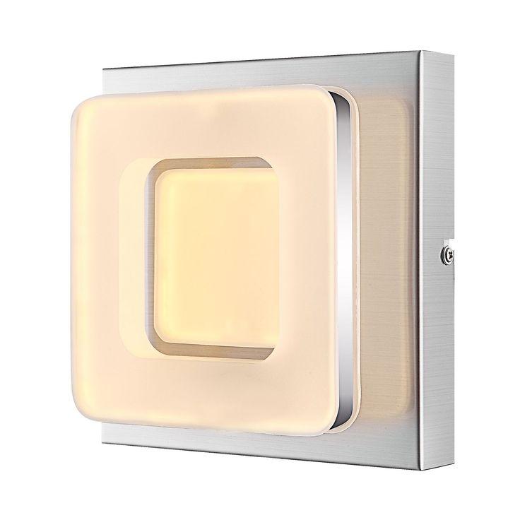Cute EEK A LED Wandleuchte Gianni Metall Acryl Globo Lighting