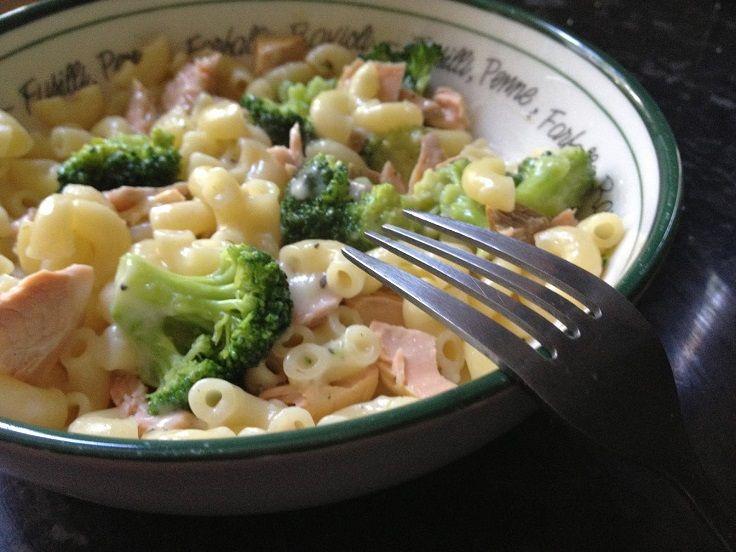 Salmon And Broccoli salad