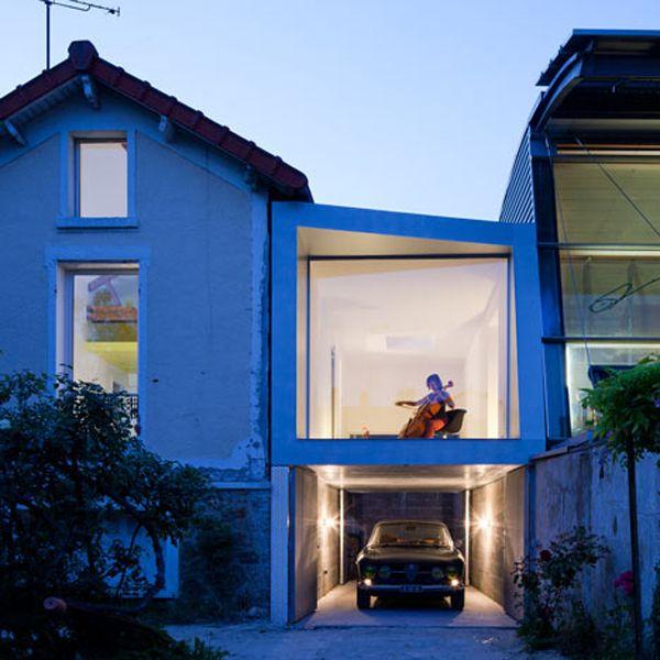 Parisian house extension