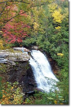 Swallow Falls State Park - Maryland's highest waterfalls and the head of the Youghigheny River.
