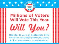 Make National Voter Registration Day Your Own! | National Voter Registration Day 2013