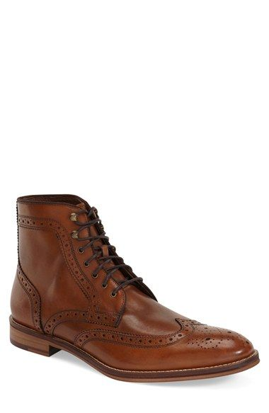 Free shipping and returns on Johnston & Murphy 'Conard' Wingtip Boot (Men) at Nordstrom.com. Classic broguing elevates a stylish boot formed from fine Italian calfskin.