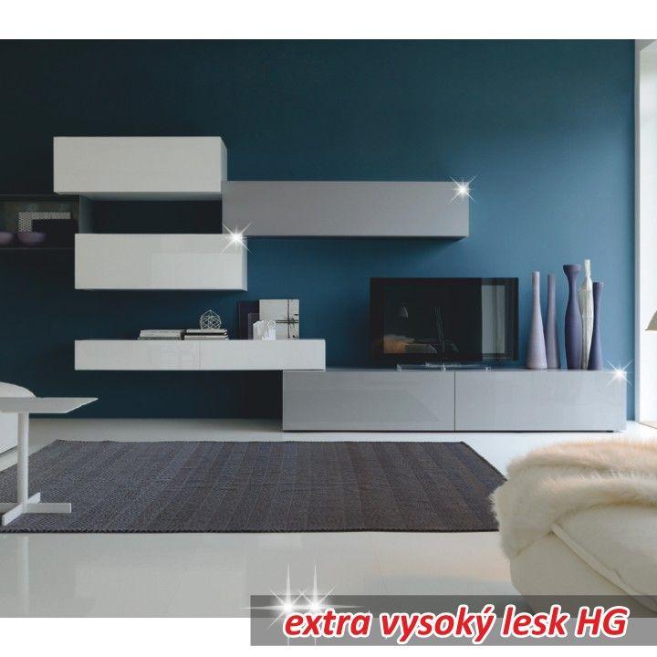 Obývací stěna VENECIA | Nábytek ATAN | Obývací pokoje