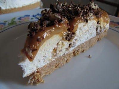 kuchnia pod wulkanem: Semifreddo Snickers, deser na zimno Snickers