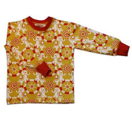 Long sleeve t-shirt -Punainen Norsu