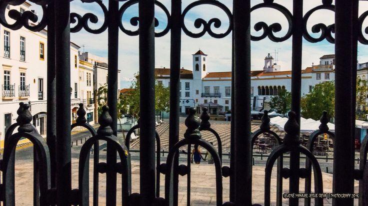 """Elvas-As Cores do Alentejo """" Praça da República"""""""